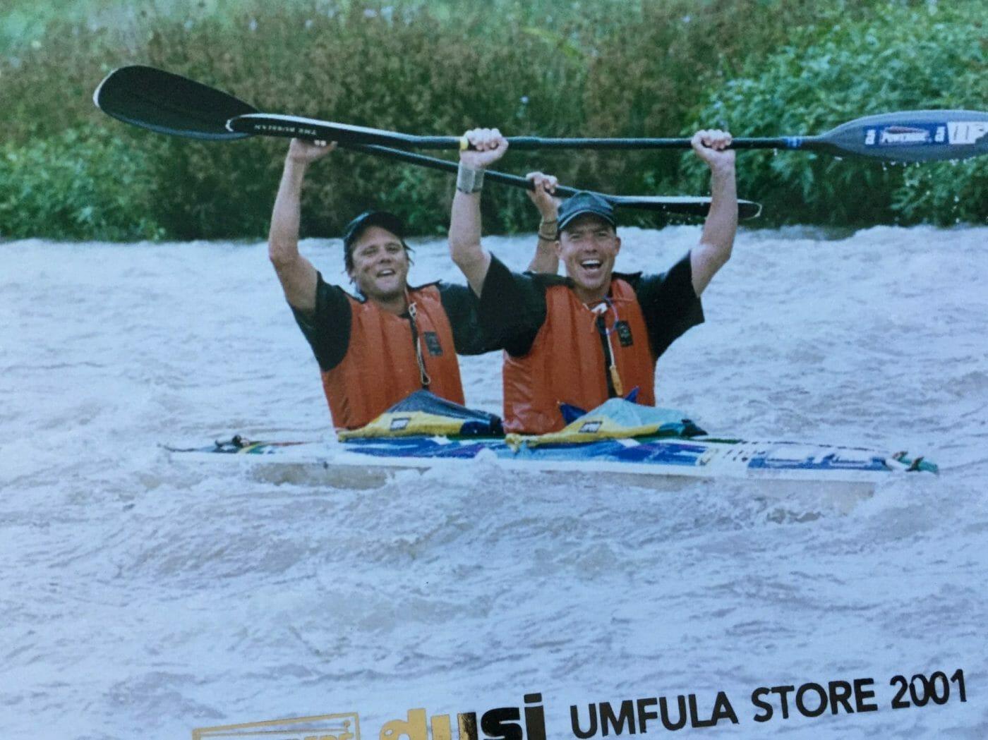 One of Many Dusi Canoe marathons