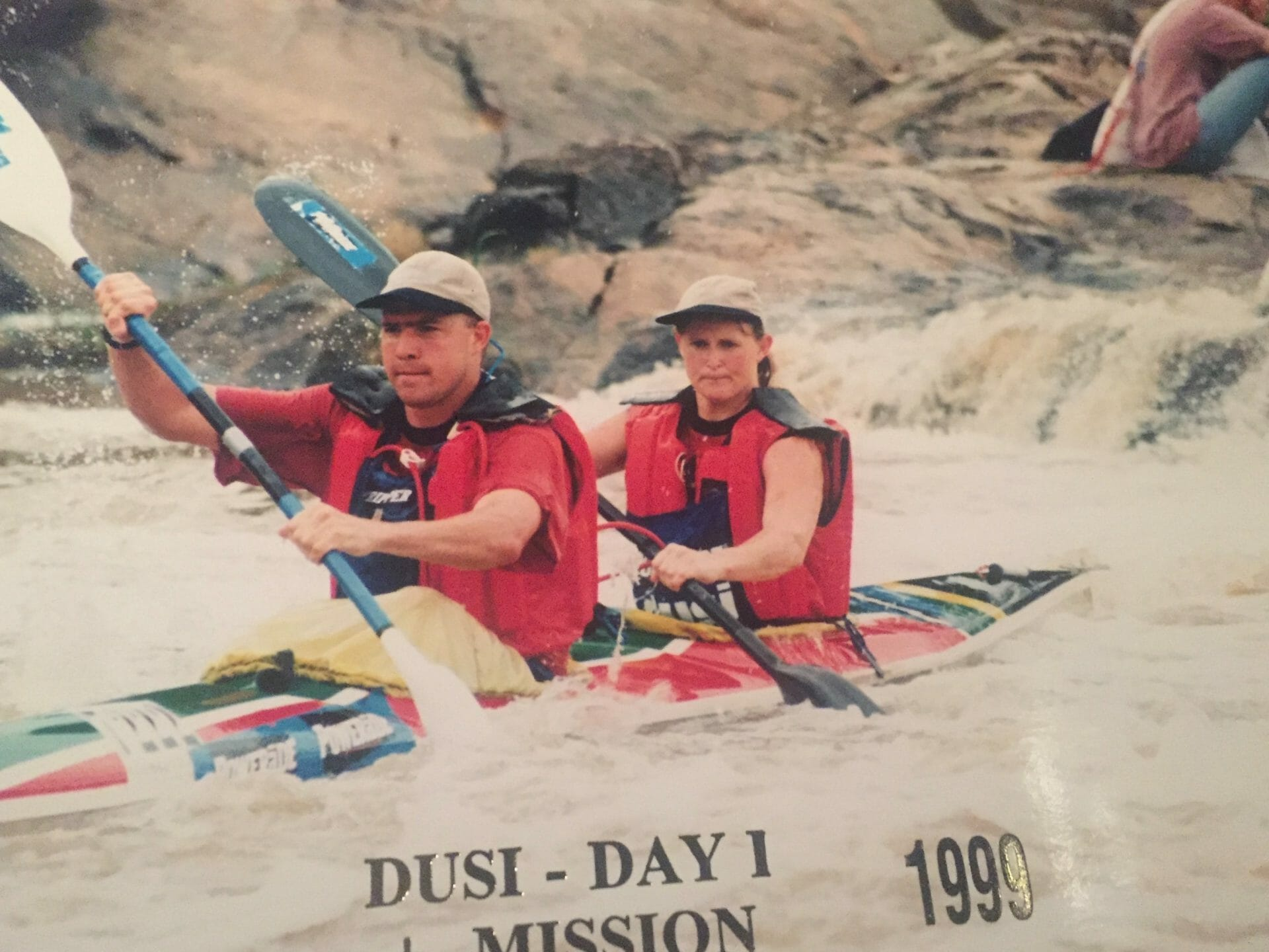 Tash and JP Dusi Canoe Marathon