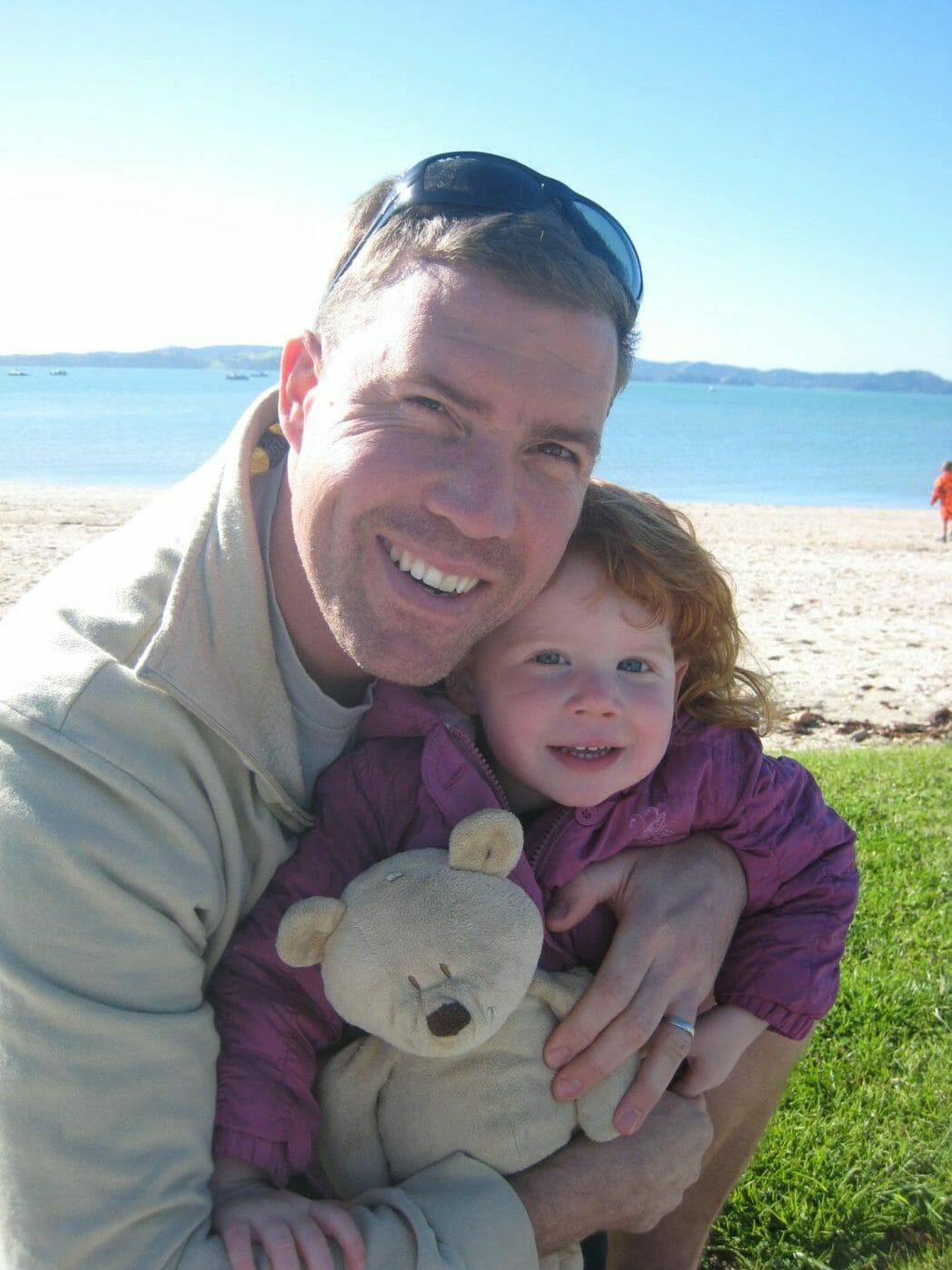 JP with his daughter Ela