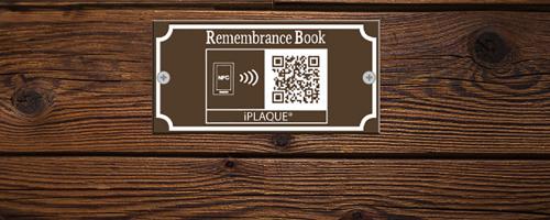 iPLAQUE Memorial Plaques