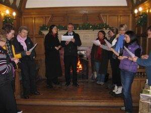 Christmas carols at Inglewood House Dec 2010