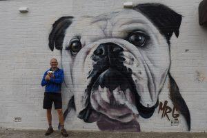 David and Phil with brachy graffiti