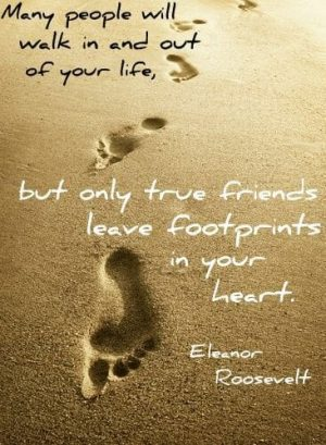 Footprints in your heart